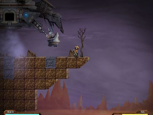 Download Mines of Mars iPhone free game.