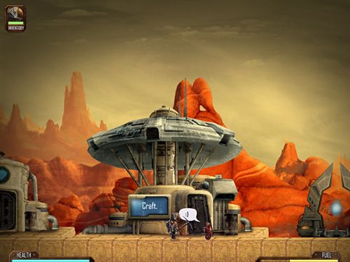 Screenshots of the Mines of Mars game for iPhone, iPad or iPod.