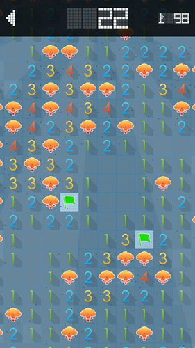 Free Minesweeper download for iPhone, iPad and iPod.