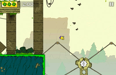 Capturas de pantalla del juego Mini Dash para iPhone, iPad o iPod.