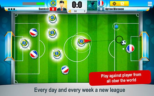 Download Mini football: Championship iPhone free game.