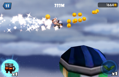Screenshots do jogo Mini Glider para iPhone, iPad ou iPod.