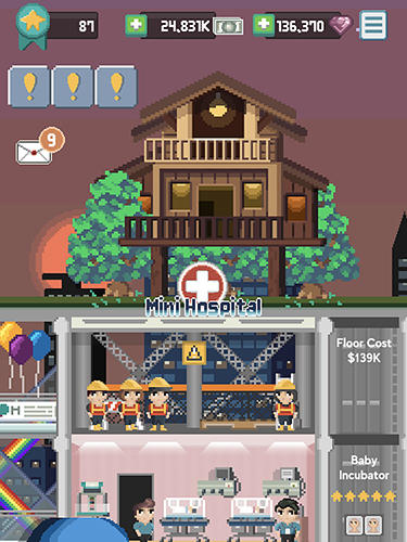 Screenshots do jogo Mini hospital para iPhone, iPad ou iPod.