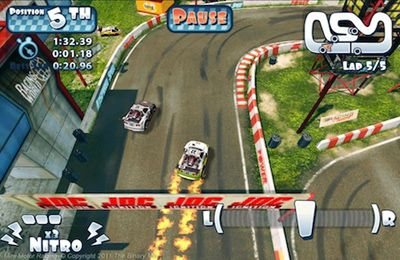 Descarga gratuita de Mini Motor Racing para iPhone, iPad y iPod.