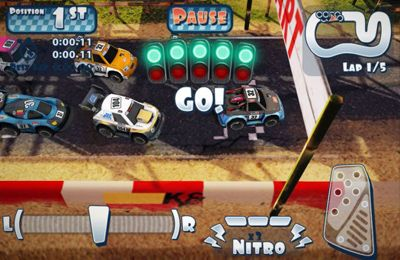 Capturas de pantalla del juego Mini Motor Racing para iPhone, iPad o iPod.