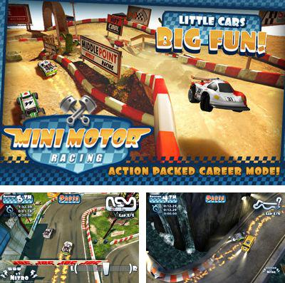 In addition to the game Kart 3D Pro for iPhone, iPad or iPod, you can also download Mini Motor Racing for free.