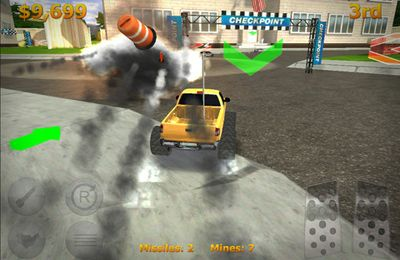 Capturas de pantalla del juego Mini Racers para iPhone, iPad o iPod.