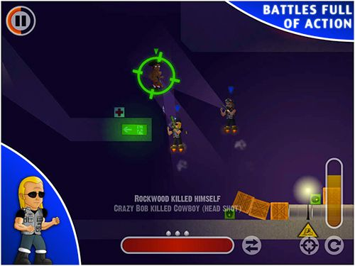 Capturas de pantalla del juego Mini wars para iPhone, iPad o iPod.