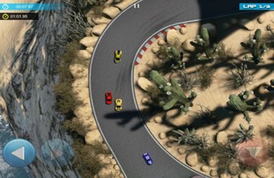 Écrans du jeu Minicar World Racing HD pour iPhone, iPad ou iPod.