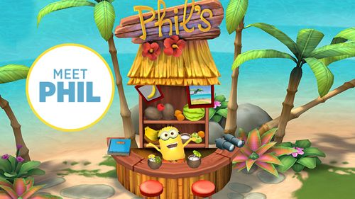 Download Minions paradise iPhone free game.