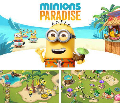 In addition to the game Space Dog Run for iPhone, iPad or iPod, you can also download Minions paradise for free.