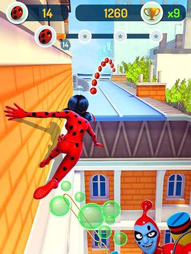 Kostenloser Download von Miraculous Ladybug and Cat Noir für iPhone, iPad und iPod.