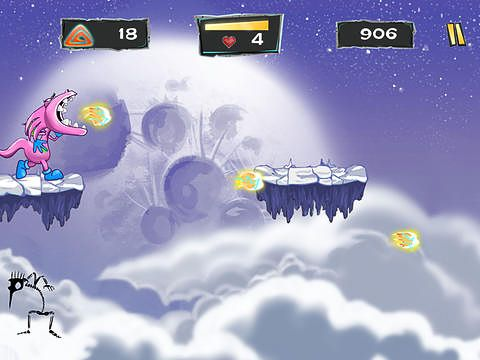 Screenshots of the Mishu the dragon game for iPhone, iPad or iPod.