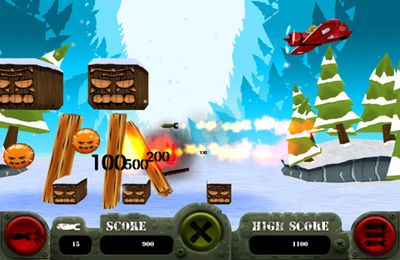 Screenshots do jogo Missile Monkey para iPhone, iPad ou iPod.