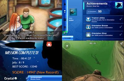 Screenshots of the Mission: Deep Sea game for iPhone, iPad or iPod.