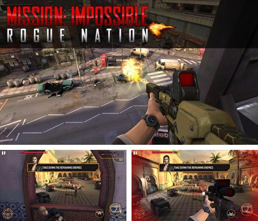 En plus du jeu Les Destructeurs des Tunnels pour iPhone, iPad ou iPod, vous pouvez aussi télécharger gratuitement Mission impossible: Tribu des expulsés, Mission impossible: Rogue nation.