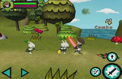 Screenshots of the Mission Sword game for iPhone, iPad or iPod.