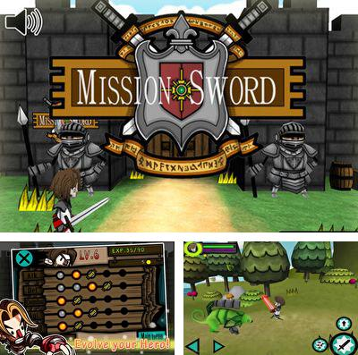 In addition to the game Girl vs. Zombies for iPhone, iPad or iPod, you can also download Mission Sword for free.