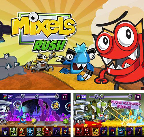 In addition to the game Rocket Runner for iPhone, iPad or iPod, you can also download Mixels rush for free.