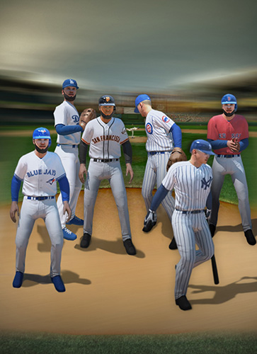 Écrans du jeu MLB Tap sports: Baseball 2018 pour iPhone, iPad ou iPod.