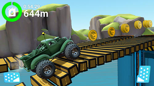 Screenshots of the MMX hill dash 2 game for iPhone, iPad or iPod.