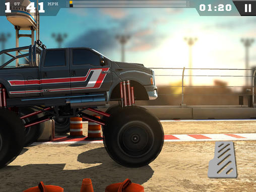 Download MMX racing iPhone free game.