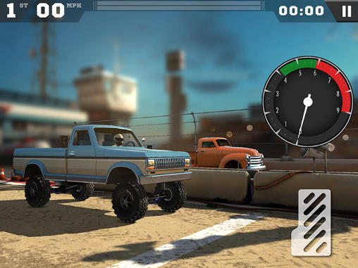 Screenshots of the MMX racing game for iPhone, iPad or iPod.