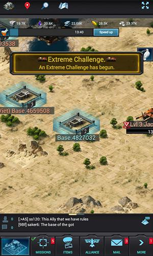Screenshots of the Mobile strike game for iPhone, iPad or iPod.
