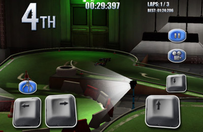 Screenshots of the Model Auto Racing game for iPhone, iPad or iPod.