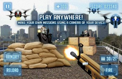 Descarga gratuita de Modern Battlefield AR Shooter para iPhone, iPad y iPod.