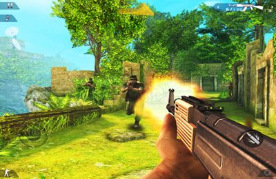 Screenshots do jogo Modern Combat 2: Black Pegasus para iPhone, iPad ou iPod.