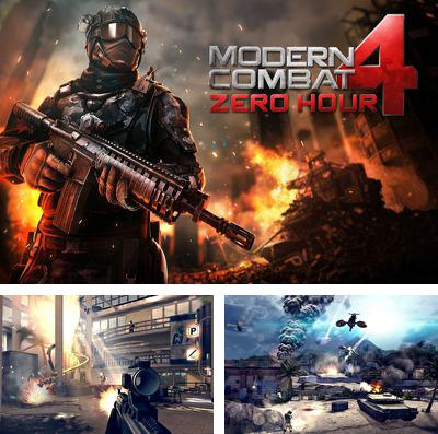 In addition to the game Toca: Kitchen monsters for iPhone, iPad or iPod, you can also download Modern Combat 4: Zero Hour for free.