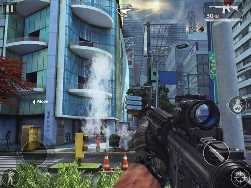 Capturas de pantalla del juego Modern combat 5: Blackout para iPhone, iPad o iPod.