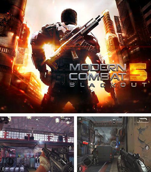 In addition to the game Mosaika for iPhone, iPad or iPod, you can also download Modern combat 5: Blackout for free.