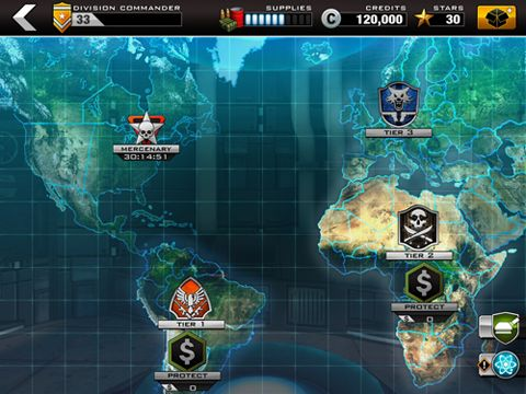 Download Modern command iPhone free game.