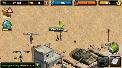 Download Modern war iPhone free game.