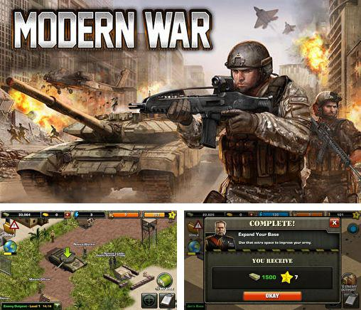 In addition to the game Little Tribes for iPhone, iPad or iPod, you can also download Modern war for free.