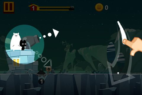 Capturas de pantalla del juego Mog Gen Boom para iPhone, iPad o iPod.