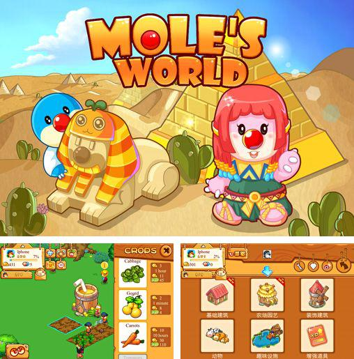 Download Mole's world iPhone free game.