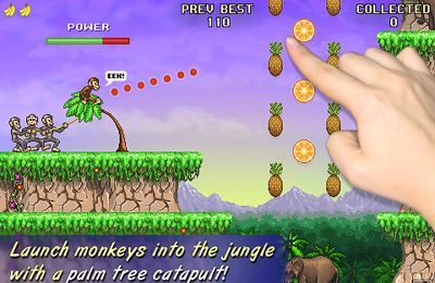 Download Monkey Flight iPhone free game.