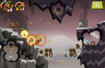 Écrans du jeu Monkey Quest: Thunderbow pour iPhone, iPad ou iPod.