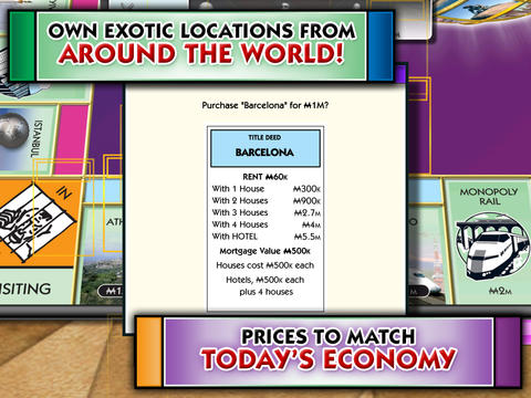 Скачать Monopoly Here and Now: The World Edition на iPhone бесплатно
