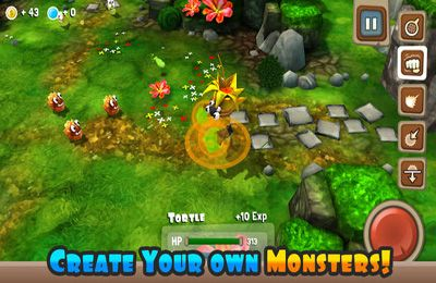 Screenshots of the Monster Adventures game for iPhone, iPad or iPod.