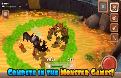 Screenshots do jogo Monster Adventures para iPhone, iPad ou iPod.