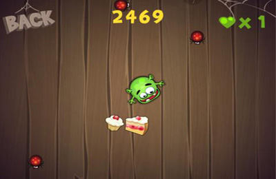 Screenshots vom Spiel Monster and Sweets Premium für iPhone, iPad oder iPod.