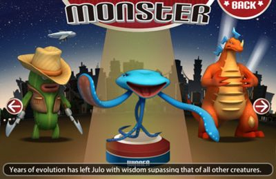 Screenshots of the Monster Attack! game for iPhone, iPad or iPod.