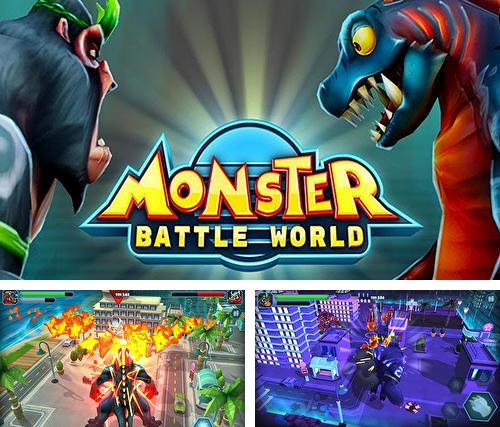 Скачать Monster battle world на iPhone бесплатно