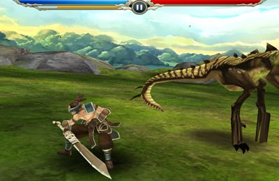 Écrans du jeu Monster Blade pour iPhone, iPad ou iPod.