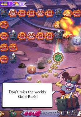 Écrans du jeu Monster Burner pour iPhone, iPad ou iPod.