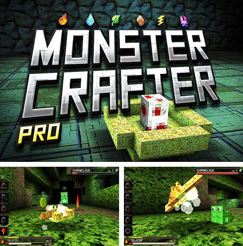 In addition to the game Pro zombie soccer: Apocalypse еdition for iPhone, iPad or iPod, you can also download Monster crafter pro for free.